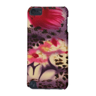 Pink Flowers & Leopard Design iPod Touch (5th Generation) Cover