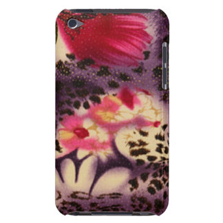 Pink Flowers & Leopard Design iPod Touch Case-Mate Case