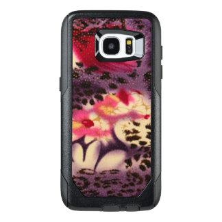 Pink Flowers & Leopard Design OtterBox Samsung Galaxy S7 Edge Case