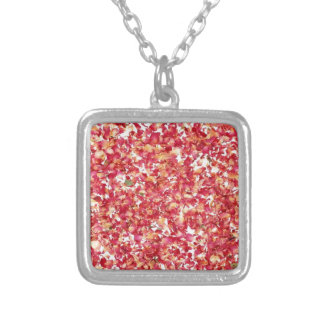 Pink Flowers Necklaces