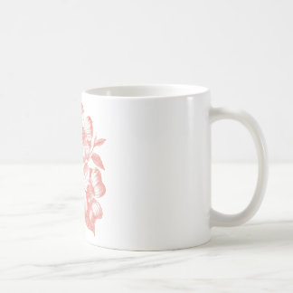 Pink Flowers on a Branch Mug
