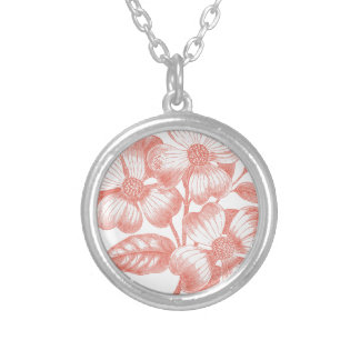Pink Flowers on a Branch Jewelry