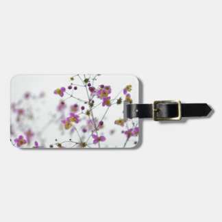 Pink Flowers on Horizon Luggage Tag