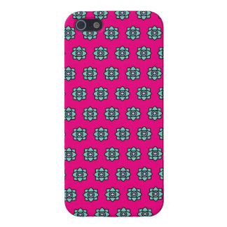 Pink flowers pattern case for the iPhone 5
