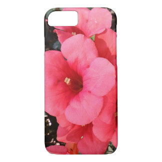Pink Flowers Photo Apple iPhone 7, Barely There iPhone 8/7 Case
