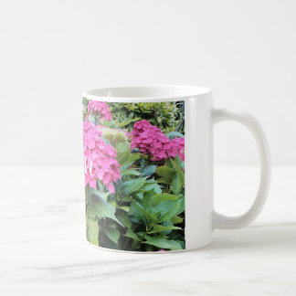 Pink  Flowers Photo Classic White Mug