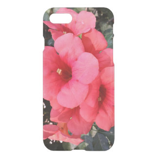 Pink Flowers Photo iPhone 7 Clearly™ Deflector iPhone 8/7 Case