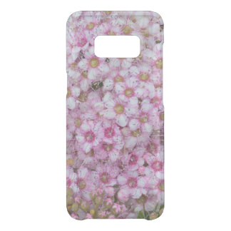 Pink Flowers Samsung S8 Phone Case