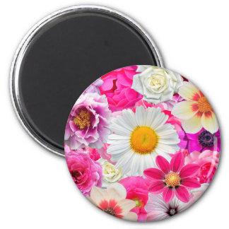 Pink flowers_ Sanchez Glory Magnet