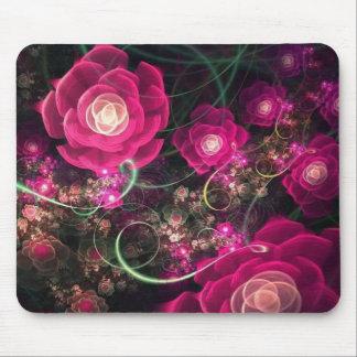 Pink Flowers Say It Best Mousepad