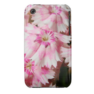 Pink Flowers Sweet William Case-Mate iPhone 3 Case