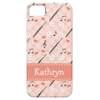 Pink Flute iPhone 5 Case