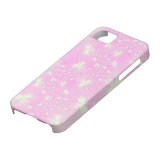 Pink Flutterbyes Case For The iPhone 5