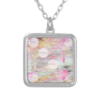 Pink forest dreams necklace