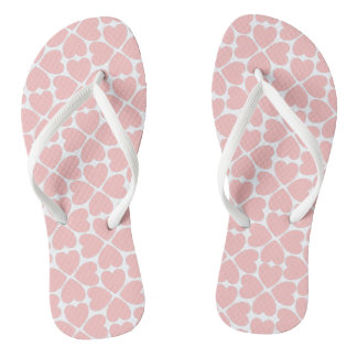 Pink Four Leaf Clover Hearts Thongs