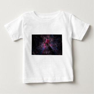 Pink Fractal Baby T-Shirt