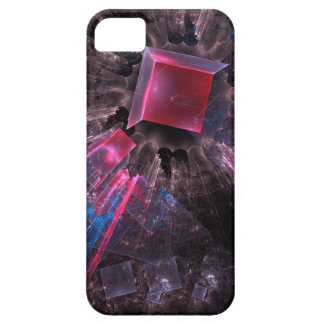 Pink Fractal Barely There iPhone 5 Case
