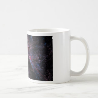 Pink Fractal Coffee Mug