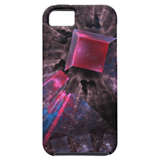 Pink Fractal iPhone 5 Cases