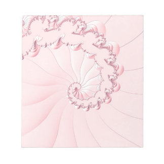 Pink Fractal Notepads