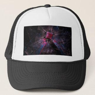 Pink Fractal Trucker Hat