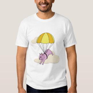 Pink French Bulldog Umbrella Fun Shirt