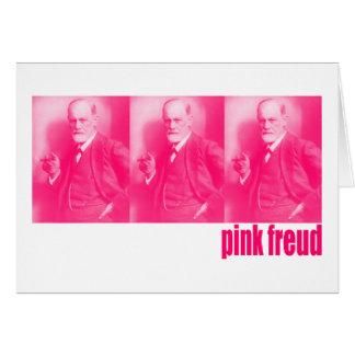 Pink Freud Card