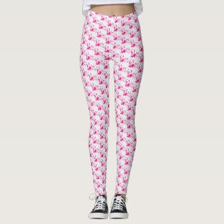 Pink freud legins leggings