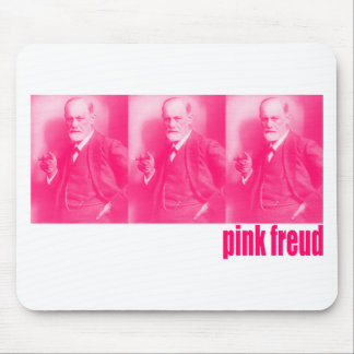 Pink Freud Mouse Pad