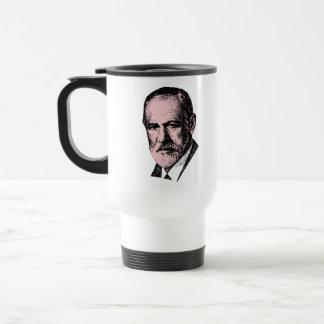 Pink Freud Sigmund Freud Coffee Mug