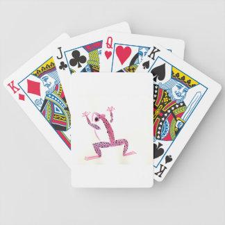 PInk Frog Poker Deck