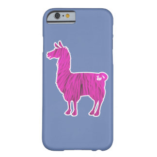 Pink Furry Llama Case