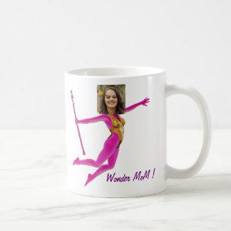 Pink Fushia Wonder Woman, Fairy Wand - Coffee Mug
