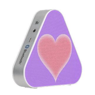 Pink Fuzzy Heart Customizable