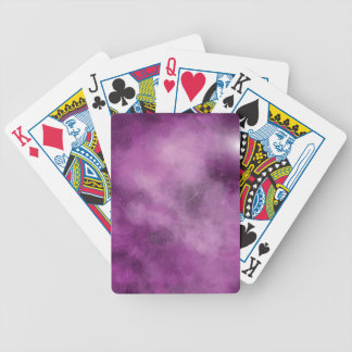 Pink Galaxy Bicycle Playing Cards