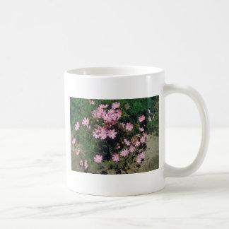 Pink Garden Cosmos (Cosmos Bipinnatus) flowers Mug