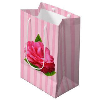Pink Gardenia Medium Gift Bag