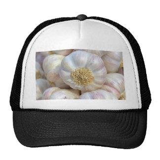 pink garlic hats