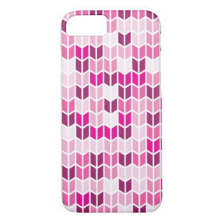 Pink Geometric Pattern iPhone 8/7 Case