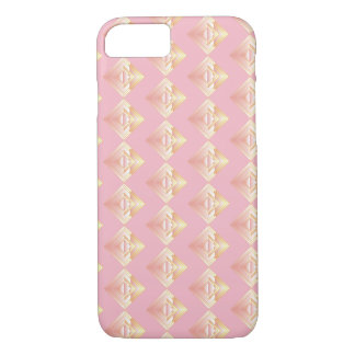 Pink Geometric Pattern Rosy Iphone Case