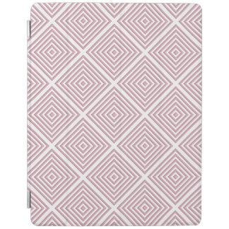 Pink Geometric Squares iPad Cover