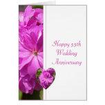 Pink Geranium 55th Wedding Anniversary