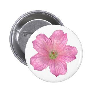 Pink Geranium Buttons