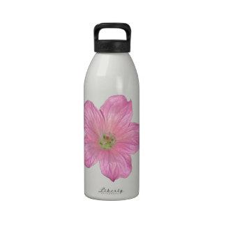 Pink Geranium Drinking Bottles