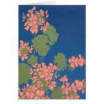 Pink Geranium Notecard Cards