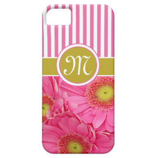 Pink Gerber Daisies Case For The iPhone 5