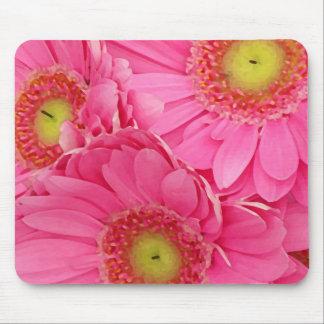 Pink Gerber Daisies Mousepads
