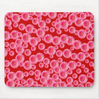 Pink Gerber Daisies Mousepad