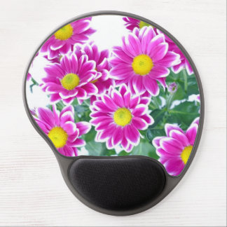 Pink Gerber Daisy Gel Mouse Pad