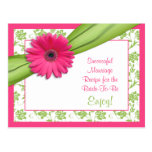 Pink Gerber Recipe Card for a Successful Marriage